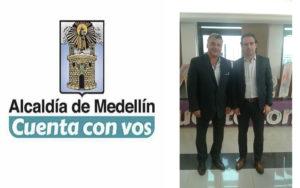 Presentando Proyectos de Políticas Públicas junto al Alcalde Federico Gutierrez Zuluaga
