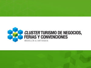 Junto a la Sra. Beatriz Velesquez del Cluster Turismo de Negocios , Ferias y Convenciones