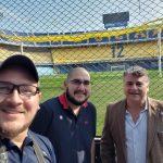 Turistiqueros en la Cancha de Boca Juniors - La Bombonera