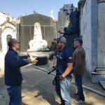 Recorrido al cementerio de La Recoleta con el Guía turístico